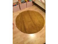 IKEA yellow rug (Like New)