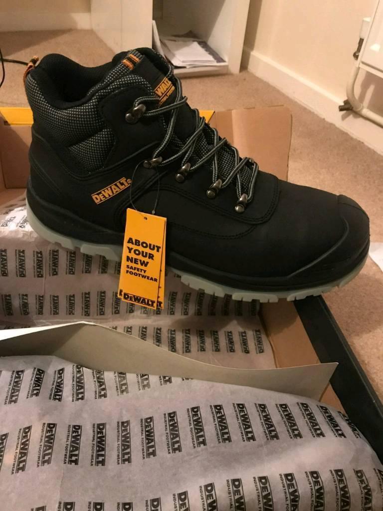 d0d39310792 * BRAND NEW * Dewalt laser safety boots size 12 | in Borough Green, Kent |  Gumtree