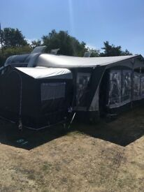 2016 Elddis Avante 576 twin bunk touring caravan with motor mover