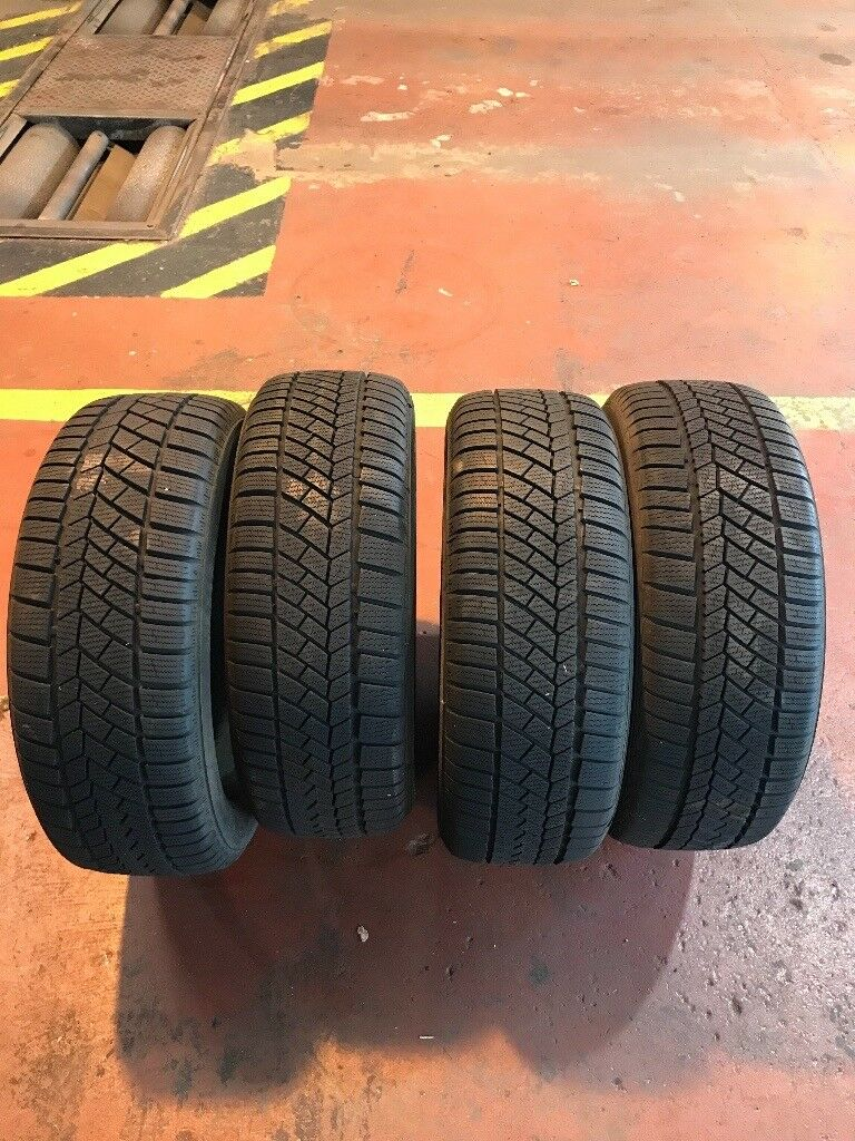 205/55/16 continental winter runflat tyres !!