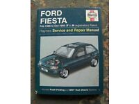 Ford Fiesta Car Manual