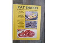 Book -Rat Snakes A Hobbyist's Guide to Elaphe and Kin