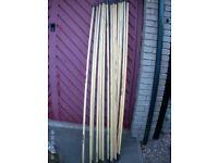 2 Meter Drain Rods x 15