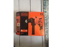 Black + Decker 500W Corded Drill Like New