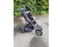 Phil and Teds Double Pushchair Buggy