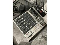 M1202 Mixer with Pro Mic