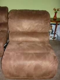 Cargo Brown Lounge Seat - for interlocking lounge set