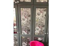 Wardrobe doors - wood 11 doors