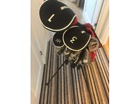 Dunlop Golf Clubs including a couple of other clubs