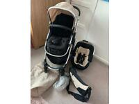 Pushchair+travel system