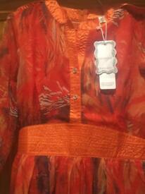 Oriental style dress
