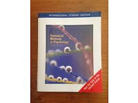 Statistical methods for Psychology (6th edition)- David C. Howell