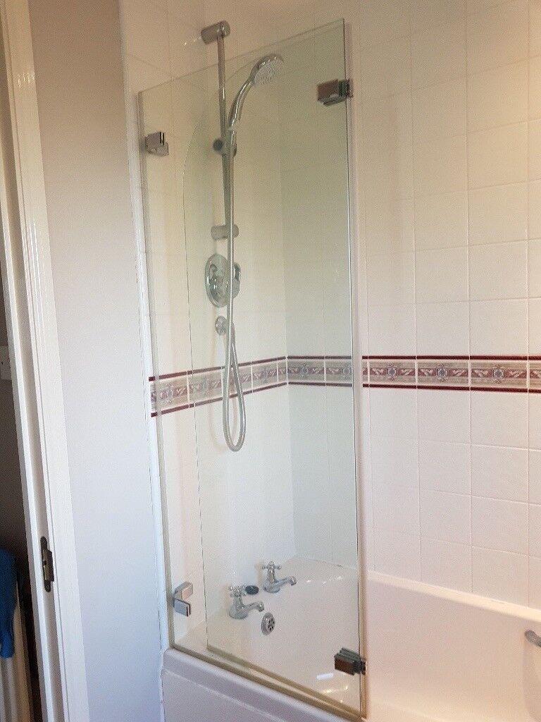 Glass Over Bath Shower Screen In Broadclyst Devon Gumtree
