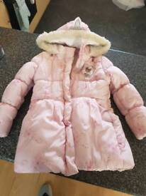 Frozen princess puffer/parker coat