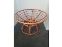 Rattan chill/reading Chair (pillow missing)