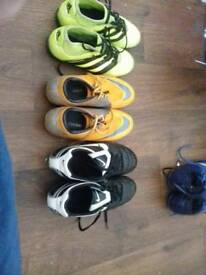 Size five football boots