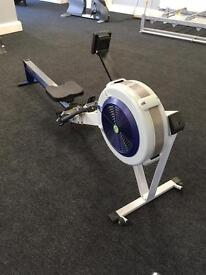 Model D Concept 2 rower with PM3 monitor/ Gym equipment