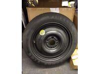 New & Unused Pirelli T 125 80 R15 spare wheel.