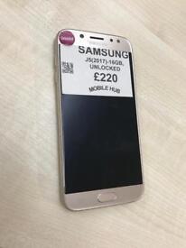 Samsung galaxy j5 2017 unlocked
