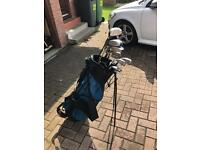 Full set of Golf Clubs, with stand bag