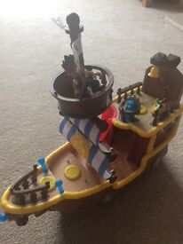 Jakes pirate ship