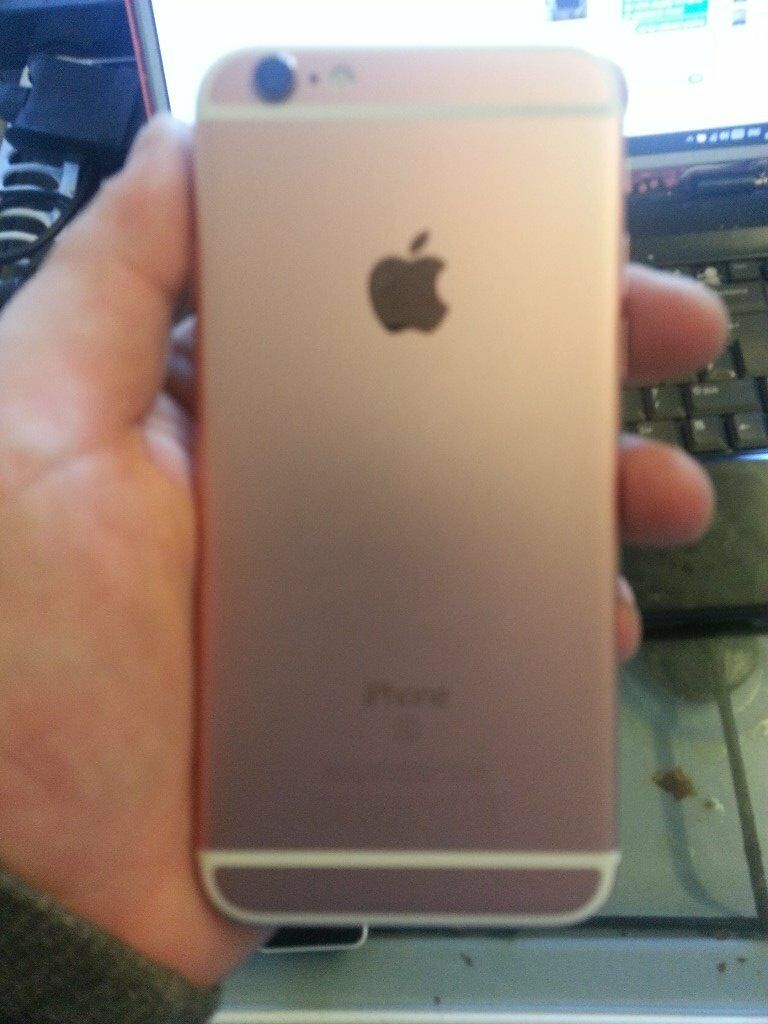 iphone 6s rose gold 16gb **FAULTY**