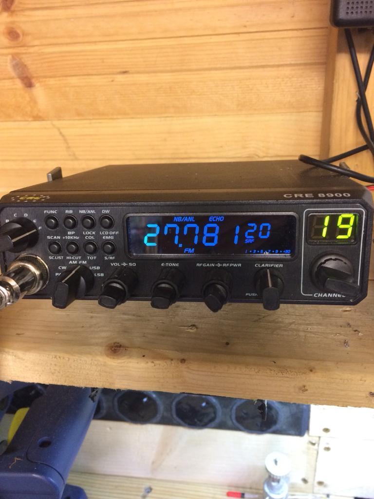 Cre 8900 ssb cb radio