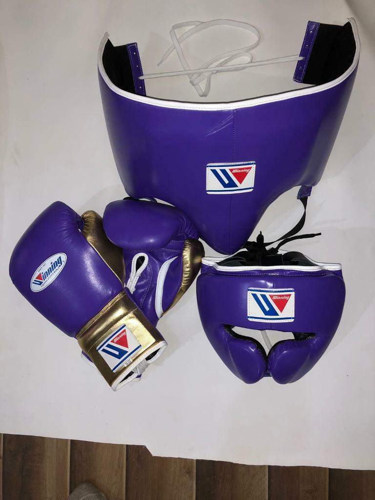 New custom winning boxing sparring set gloves, grant boxing gloves, twins  reyes boxing gloves   in Brick Lane, London   Gumtree