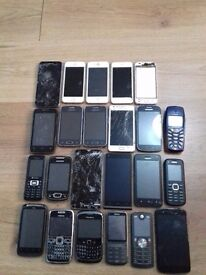 Mobile phones for parts