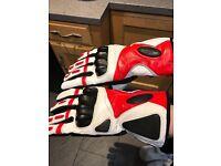 Fantastic quality protective ski race/biking gloves