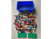 Large box of mixed of of lego