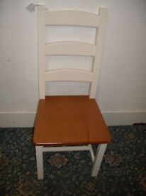 Single White Kitchen Chair ID 184/2/18
