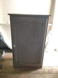 Grey Shabby Chic Cupboard Great Condition