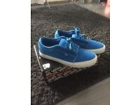 Men's Vans in Blue Suede Size 9 UK