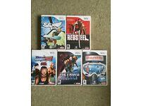 Wii Games X 5