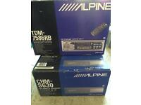 Brand new Alpine Car Stereo and New Alpine CD Changer
