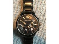 Emporia Armani black watch - Genuine