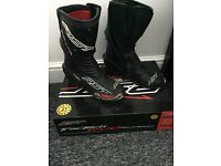 Men's Motorbike boots RST tractech EVO race boots
