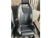 FORD FOCUS ST RECARO HEATED LEATHER SEATS
