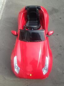Kids Ferrari 6V