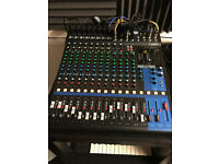 PRICE DROP - Yamaha MG16XU mixing desk with USB and effects - STILL UNDER WARRANTY