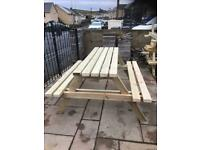 Picnic benches/ benches