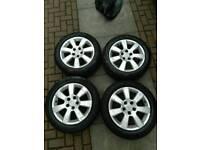 Vectra c alloy wheels R16 5 stud