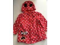 Minnie Mouse mothercare coat age 12-18 months / 1-1.5 years