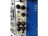 aphex project 500 series preamp compressor eq di all in one