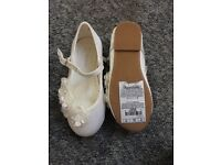 Brand New M&S Flowergirl shoes