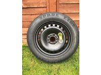 good condition Jaguar X type spare wheel