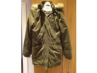 TU Sainsbury's Faux Fur Parker Coat
