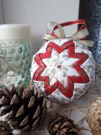 Handmade Christmas balls
