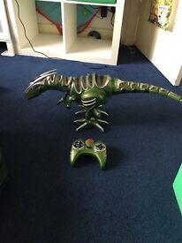 Roboraptor, remote control dinosaur